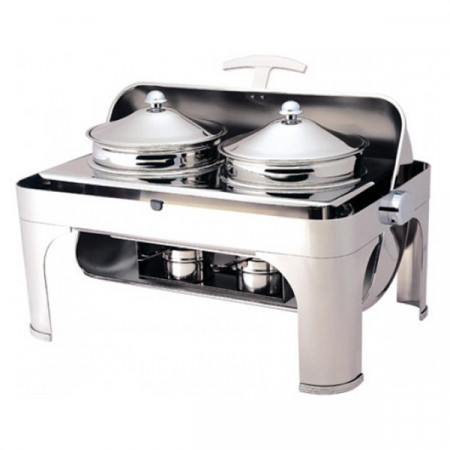 CHAFING DISHES  CON PENTOLE
