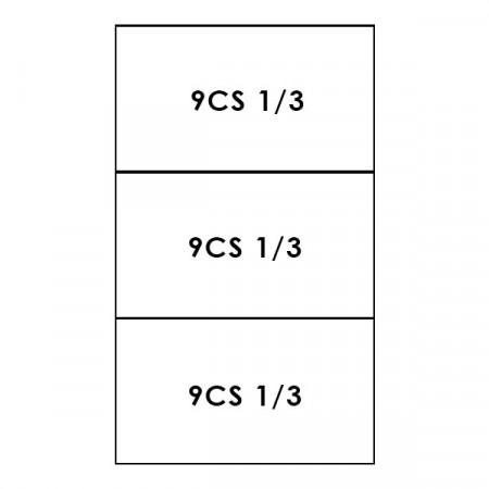 3 CESTI 1/3 LINEA 900