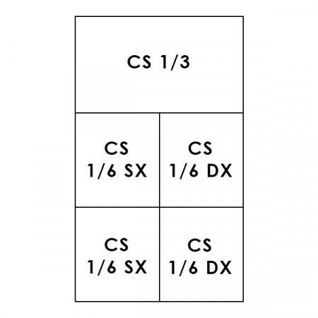 1 CESTO 1/3 + 4 CESTI 1/6 LINEA 700