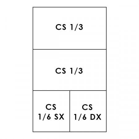 2 CESTI 1/3 + 2 CESTI 1/6 LINEA 700