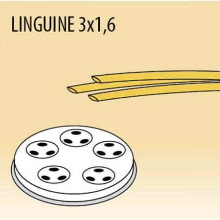 TRAFILA PER LINGUINE 3x1,6 MM