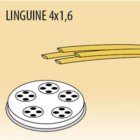 TRAFILA PER LINGUINE 4x1,6 MM