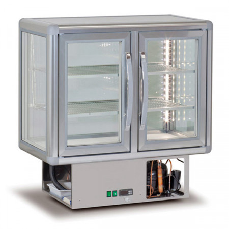 VETRINA DROP-IN -10/-19°C 91x54 H93