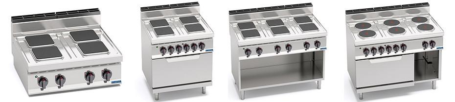 Cucine Elettriche Profondità 70, Cucine Elettriche Professionali 70