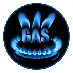 Fry Top a Gas