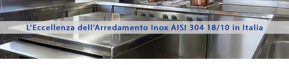 Mobili Inox per Cucine Professionali