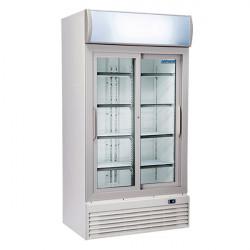 Espositori Refrigerati Bianchi Anta Vetro