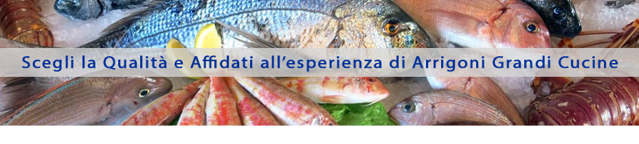 Attrezzatura professionale per pescherie | Arrigoni Grandi Cucine