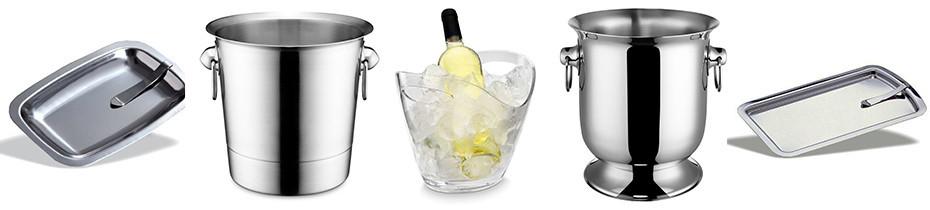 secchielli champagne, accessori vino, seggiolone bambino, posacenere