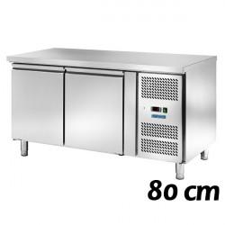 Tavoli Refrigerati Profondità 80 cm (Teglie 60x40)