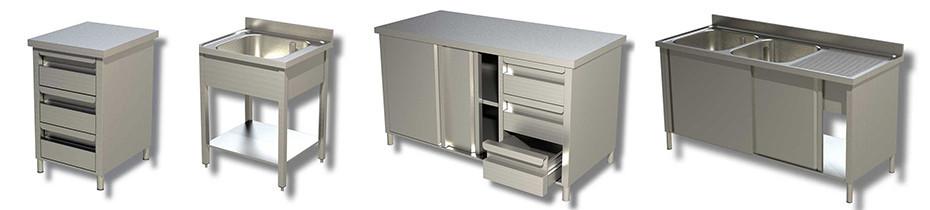 Arredamento Inox con piano da 4cm | Arrigoni grandi Cucine