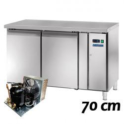 Tavoli Refrigerati Profondità 70 cm Motore Remoto (GN1/1)