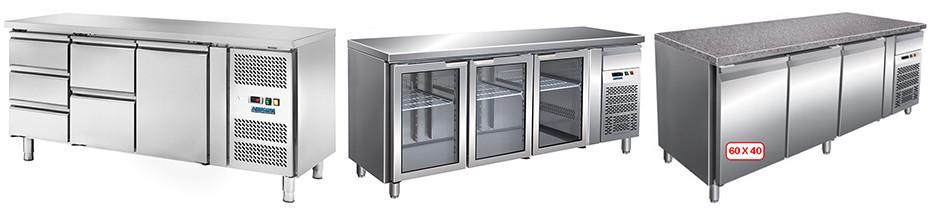 Tavoli Refrigerati in Acciaio Inox