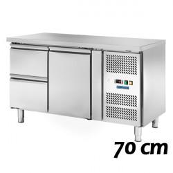 Tavoli Refrigerati Profondità 70 cm (GN1/1)